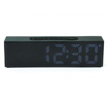 Titanium Clock Radio from Lexon Design $199