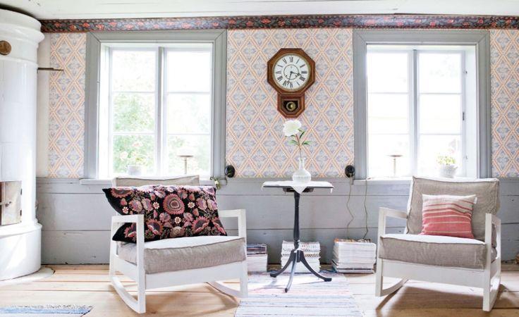 Storstuga i hus från 1700 talet. Lantliv.com