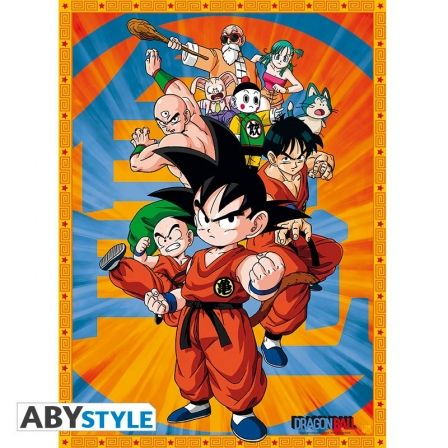 DRAGON BALL Poster Dragon Ball Sangoku and Friends (52X38)
