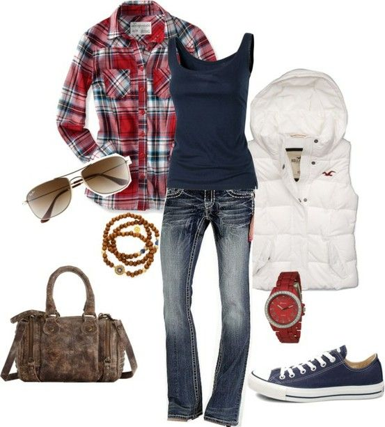 Cute. I love this outfit for fall!