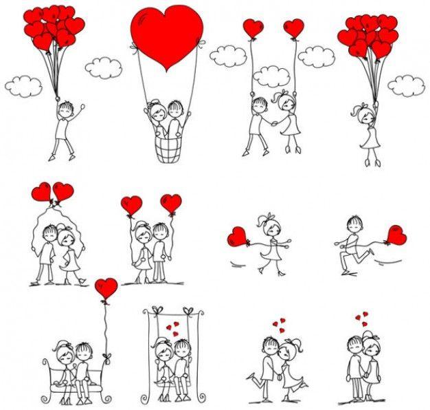 vector | amor ilustrador vector | Download grátis de vetores