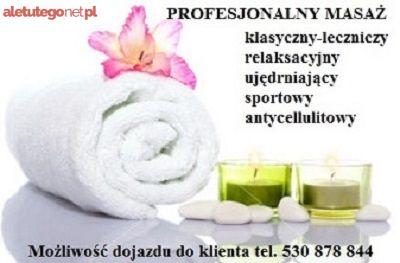 Masaże relaksacyjne z dojazdem Bemowo Warszawa
