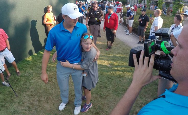 Jordan Spieth's relationship with his 14-year-old sister, Ellie, is truly heartwarming. Ellie suffers from a neurological disorder but she's still Jordan's biggest fan, cheering him on at golf tour...