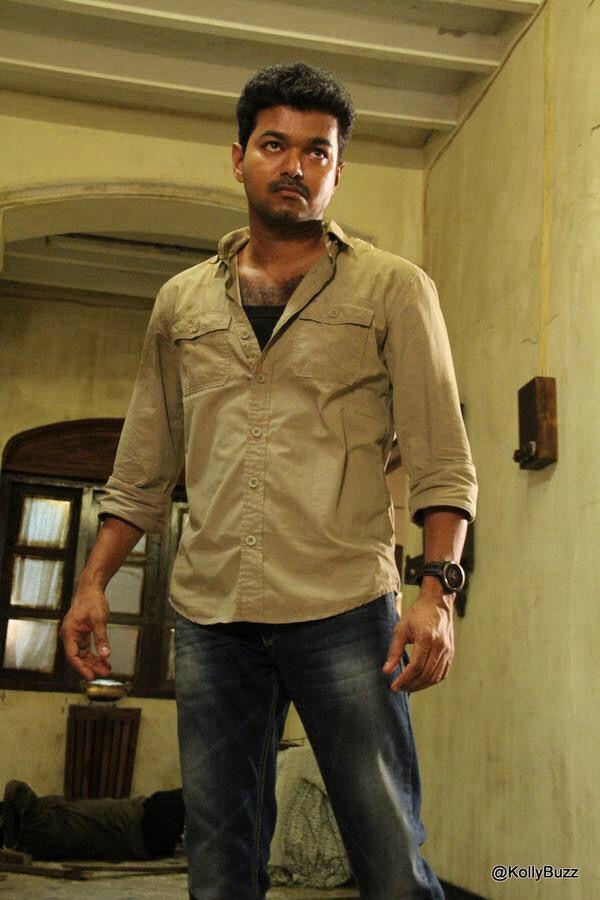 #vijay in #kaththi
