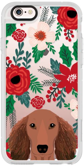 Casetify iPhone 6s New Standard Case - Red Dachshund coat beautiful gift for dog person memorial must haves for doxies by Pet Friendly #Casetify