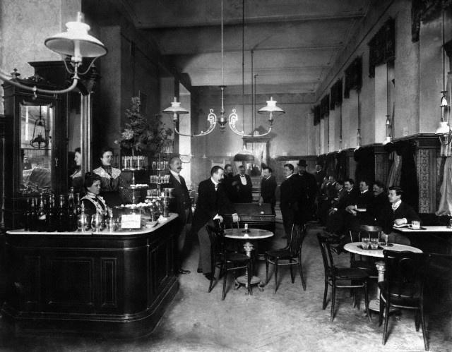 Cafe 1900 Vienna Before The War Pinterest
