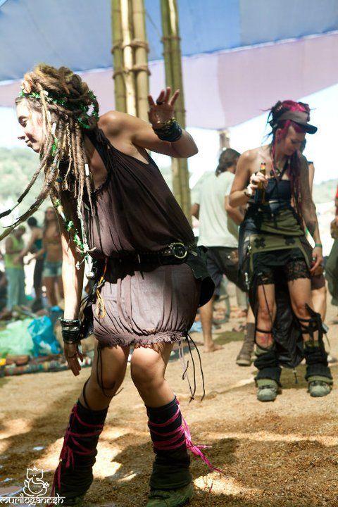 Caveman With Dreads : Dancing bohemian boho hippie gypsy dreadlocks