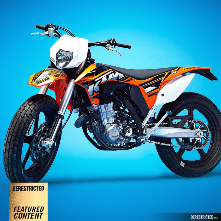 Ktm 500 Exc Dirt Tracker 171 Custom Bikes 171 Derestricted