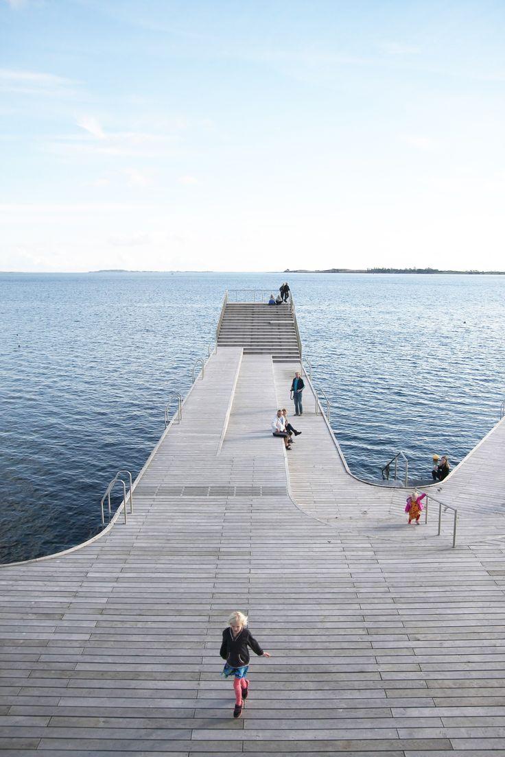 Harbor Public Bath by Urban Agency, JDS, Creo, Sloth Møller; Fåborg-Midtfyn…