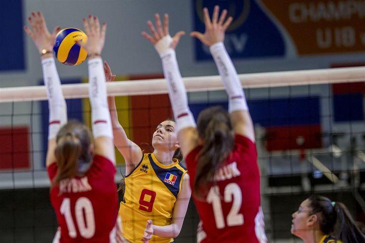 Volei feminin: România U18 a pierdut meciul 2 de la Europeanul de volei