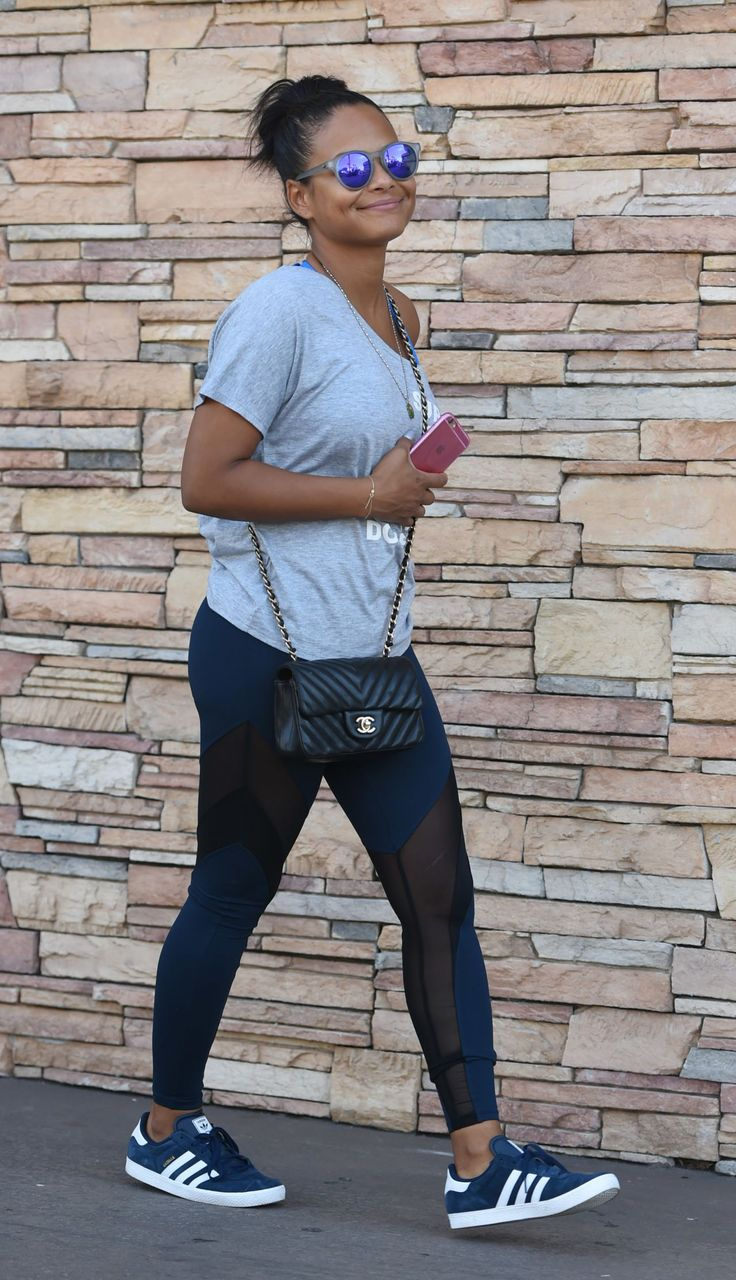 Christina Milian in SPandex -Out in Los Angeles Sep-2016 Celebstills C Christina Milian