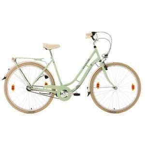 Vélo de ville femme 28''  3 vit. Casino vert tilleul TC 54 cm KS Cycling - VELO VILLE F - Cycle - achetez sur GO-SPORT.com