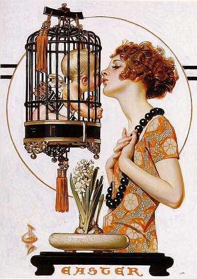 J.C. Leyendecker, The Saturday Evening Post, Easter, 1923
