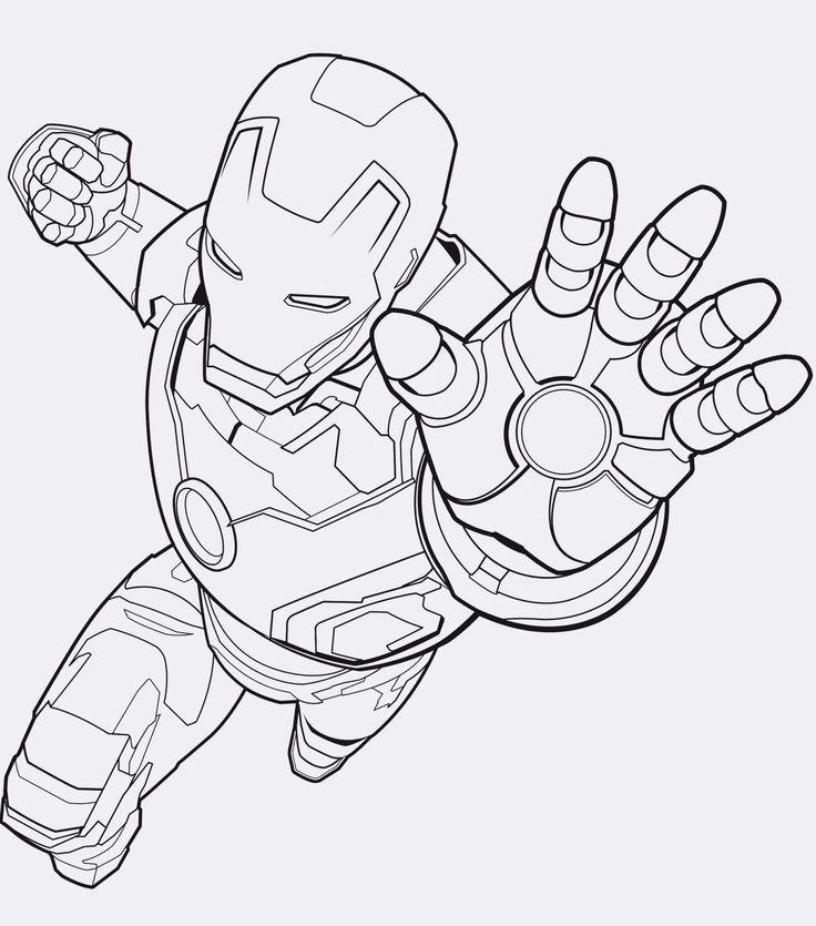 Ausmalbilder Avengers Iron Man E1541616601319 Ironman