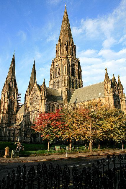 We saw this Cathedral when we were in Edinburgh!  So gorgeous!  St Mary's Cathedral, Edinburgh, Scotland