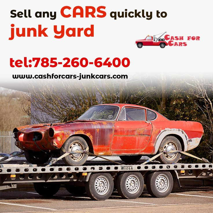 Sell any cars quickly to junkyard in 2020 Sell car, Cars
