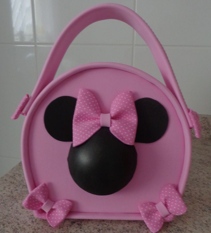 305 best images about carteras en fomi on pinterest - Manualidades minnie mouse ...