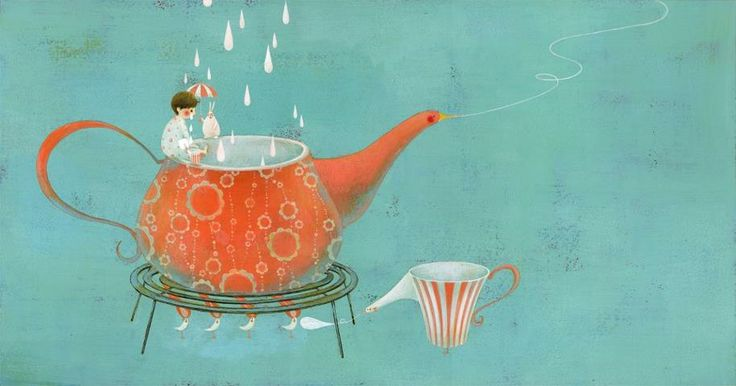 Satoe Tone, Japanese illustrator.