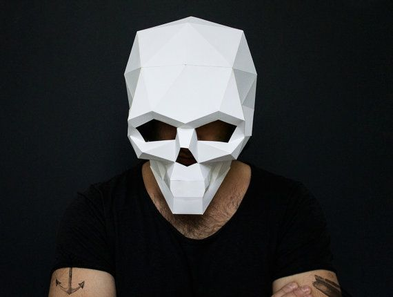 Skull and Donnie Darko Mask for Halloween by AwesomePatterns