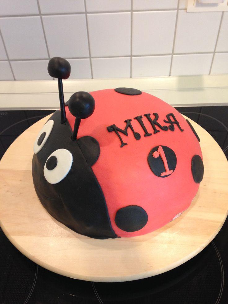 Marienkäfer, Ladybug cake,  Motivtorte