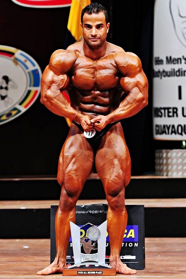 Ahmed El Wardany (احمد الورداني, Egyptian Bodybuilder
