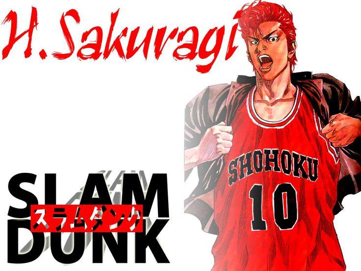 Slam Dunk - Hanamichi Sakuragi