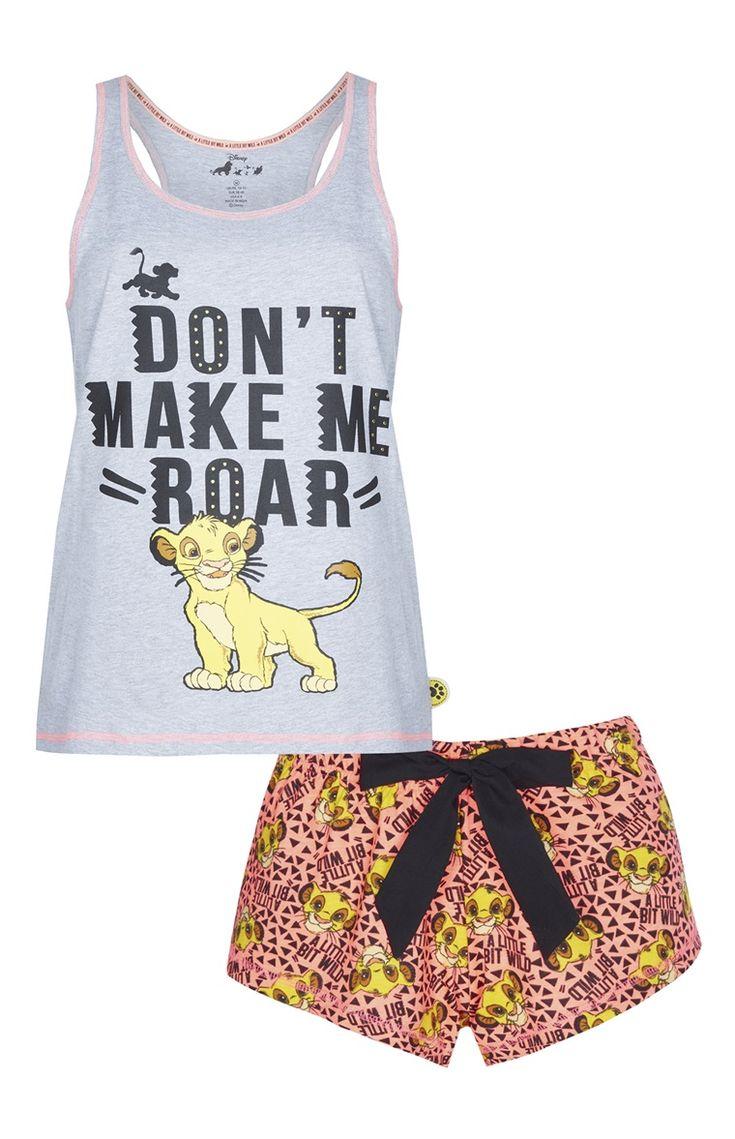 Primark - Pijama de calções Disney Lion King