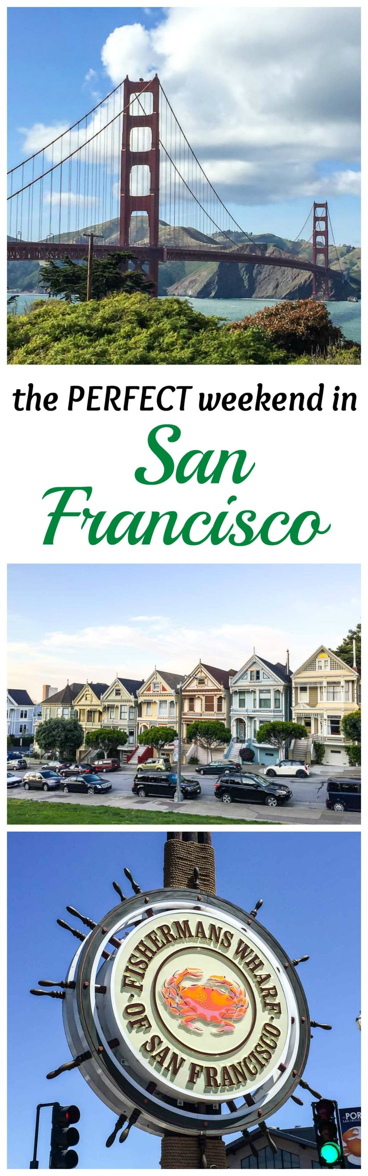 Everything you need to know to plan the PERFECT weekend in San Francisco, including top San Francisco attractions, restaurants, and hotels. Travel guide from www.wellplated.com @wellplated