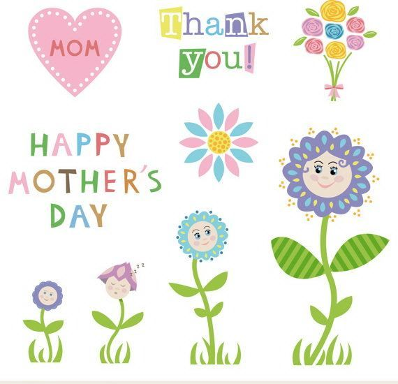106 Best Images About Mothers Day Clip Art On Pinterest