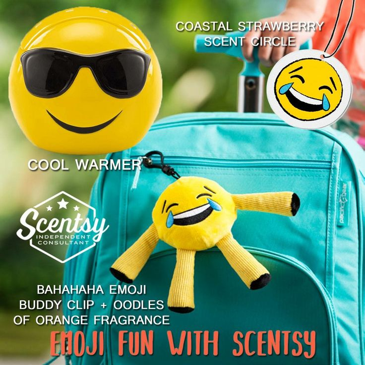 Do you love Scentsy? Do you love emojis? Well why not merge the two  Shop https://cgqualls.scentsy.us to grab these super cute items!