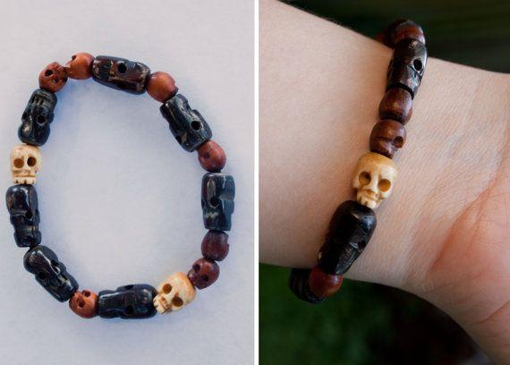 Tibetan Skull Bracelet Inspired by Supernatural's Dean Winchester on Etsy, $18.00