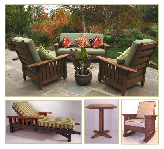 the washoe colllection outdoor furniture in the craftsman tradition