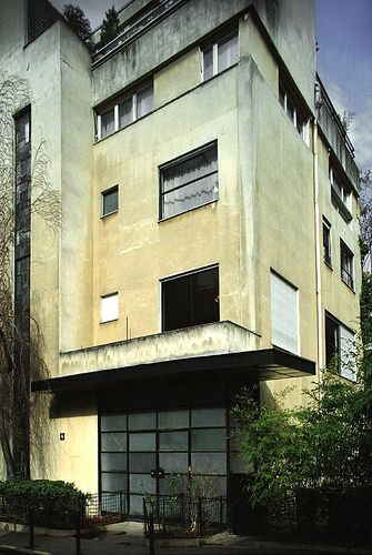 Villa on rue Mallet-Stevens, Paris, France by Robert Mallet-Stevens (1926)