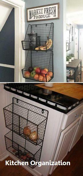 15 creative diy storage and organization ideas for small kitchens 5 rh pinterest com