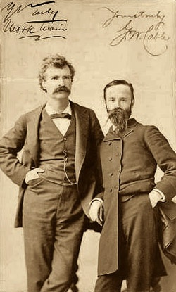 the early life and literary career of controversial author mark twain Welcome to the official mark twain website biography on nov 30 their son samuel would one day be known as mark twain - america's most famous literary icon.