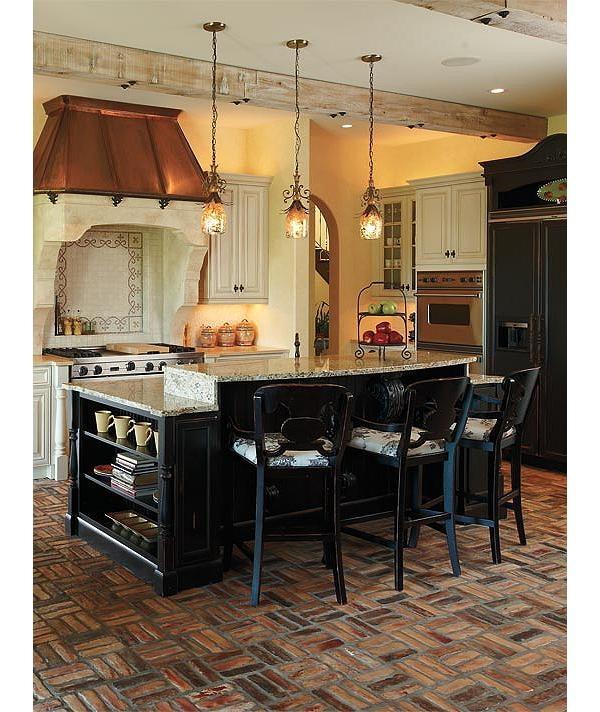 Brick Flooring Kitchen: The 25+ Best Brick Tile Floor Ideas On Pinterest