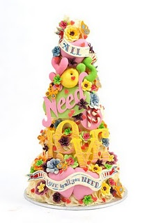 Choccywoccydoodah - the cake that made me want these guys to make our wedding cake