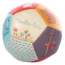 Μπάλλα πολύχρωμη Moulin Roty κωδ 658510 - Παιχνίδια