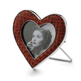 Spune-i te iubesc cu un minunat cadou pt sotie la aniversarea casatoriei, o rama foto inima rosie, ideala pt sarbatorirea nuntii de argint
