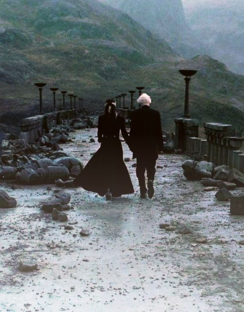 I think this is truly a beautiful picture. As flawed as they were, in the end the Malfoy's chose each other..they chose family.