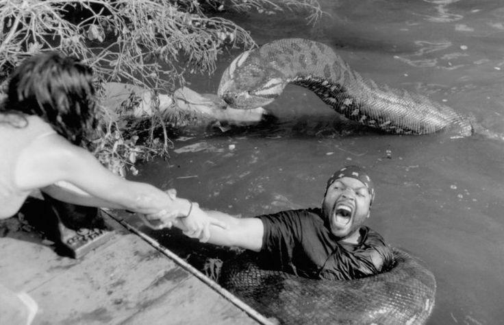 Jennifer Lopez and Ice Cube in Anaconda (1997)