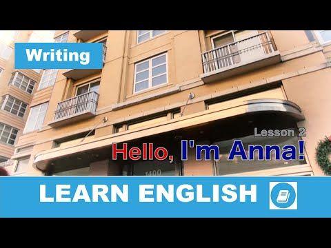 English Course – Lesson 2: Writing Exercises - E-Angol
