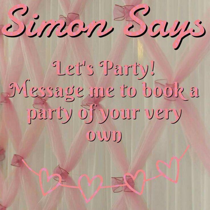 Simon says let's party