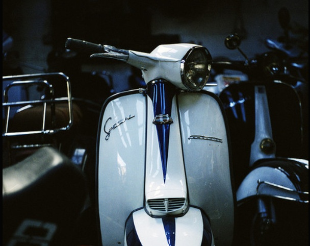 Motoneta: Someday, Vespas Spirit