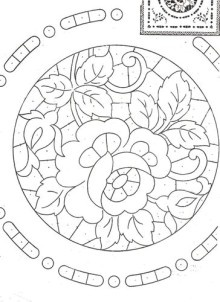 vintage French embroidery patterns