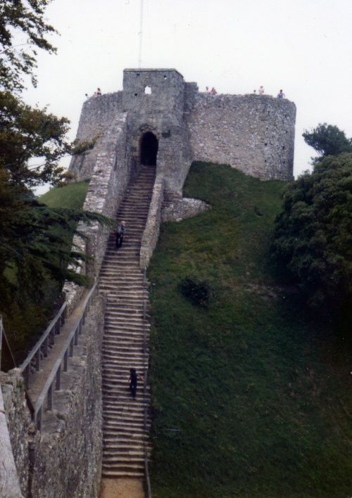 The Keep at Carisbrooke Castle