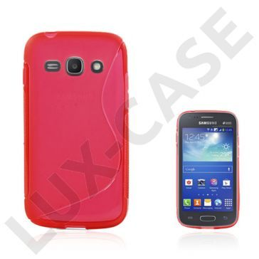Lagerlöf (Gjennomsiktig Rød) Samsung Galaxy Ace 3 Deksel