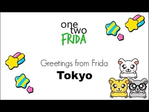 Greetings from Tokyo | One Two Frida