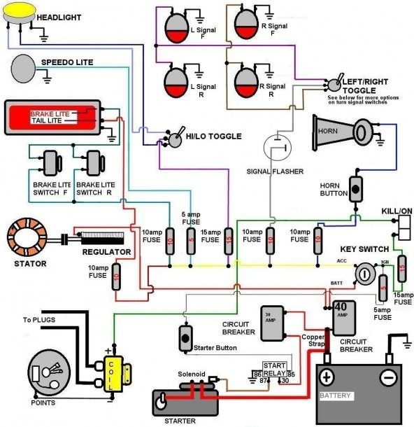 Ez Wiring 21 Circuit Harness Diagram | Electricite auto ...