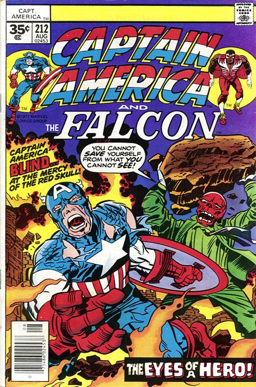 Captain America #212 35 cent error variant!  Click the pic and find out more...